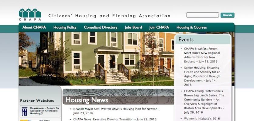 Citizens\' Housing and Planning Association | Charles River Web